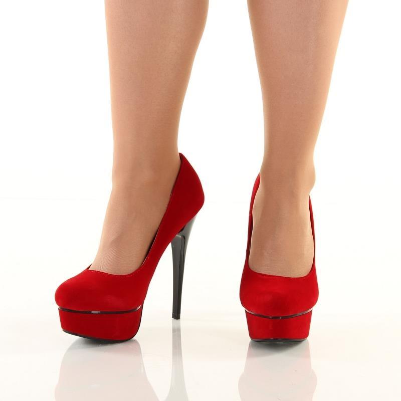 sexy velvet platform high heels 49 95. Black Bedroom Furniture Sets. Home Design Ideas