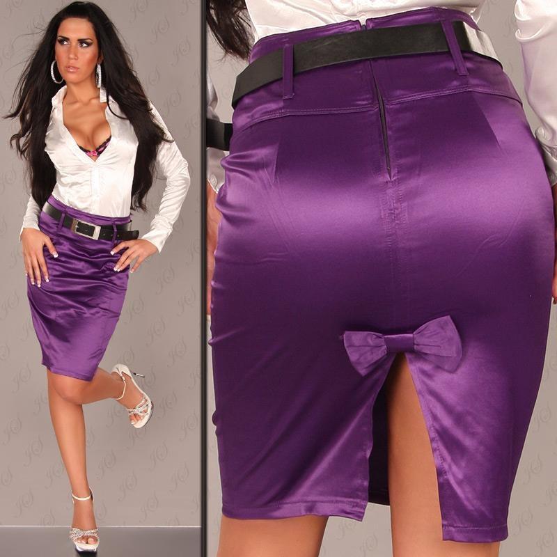 Sexy Satin Skirt 8