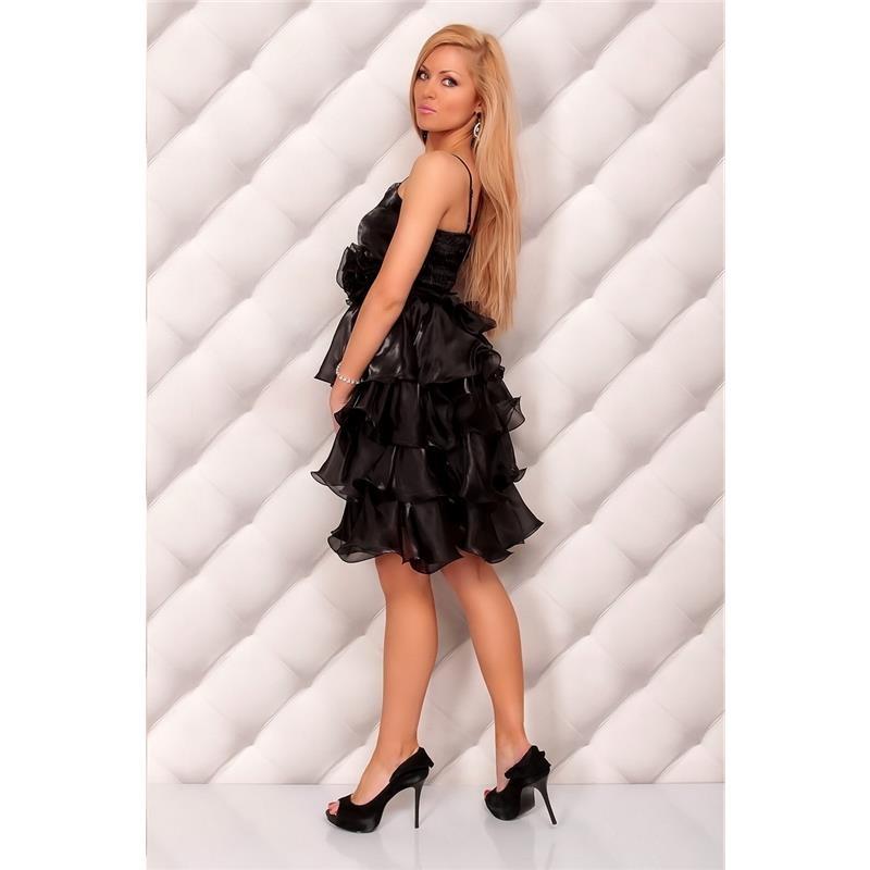 elegantes abendkleid aus t ll 29 95. Black Bedroom Furniture Sets. Home Design Ideas