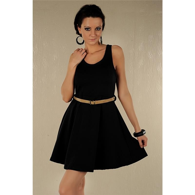 elegantes minikleid mit g rtel 19 95. Black Bedroom Furniture Sets. Home Design Ideas