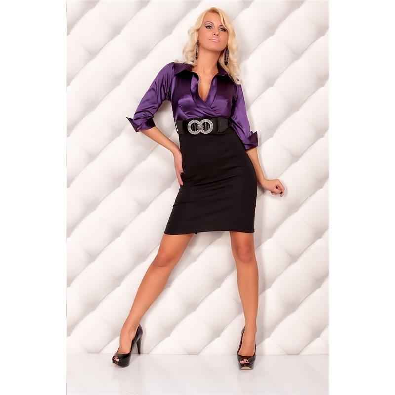 precious satin pencil dress with belt 32 95. Black Bedroom Furniture Sets. Home Design Ideas