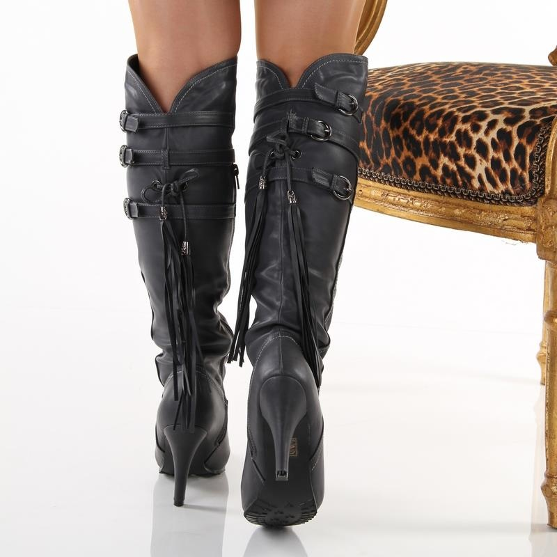 exklusive stiefel high heels mit b ndchen 29 95. Black Bedroom Furniture Sets. Home Design Ideas