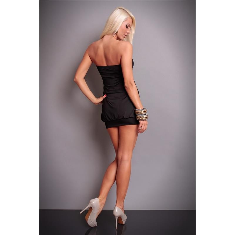 sexy bandeau minikleid mit pailletten 26 95. Black Bedroom Furniture Sets. Home Design Ideas