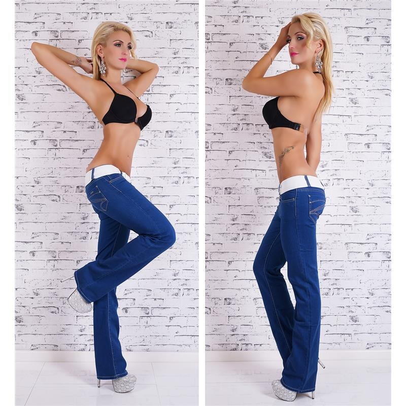 SEXY BOOTCUT JEANS 5-POCKET STYLE INCL. BELT, 34,95 €