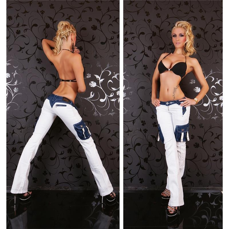 SEXY LOW-RISE CARGO BOOTCUT JEANS, 39,95 €