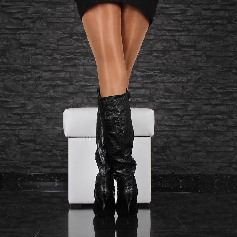 sexy ladies 39 boots made of artificial leather 49 95. Black Bedroom Furniture Sets. Home Design Ideas
