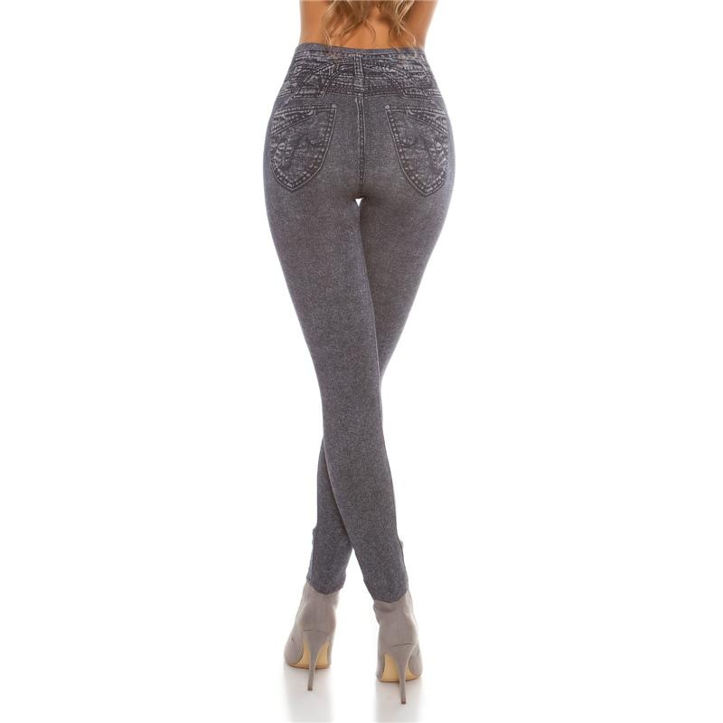 sexy leggings in jeans look with rips 14 95. Black Bedroom Furniture Sets. Home Design Ideas