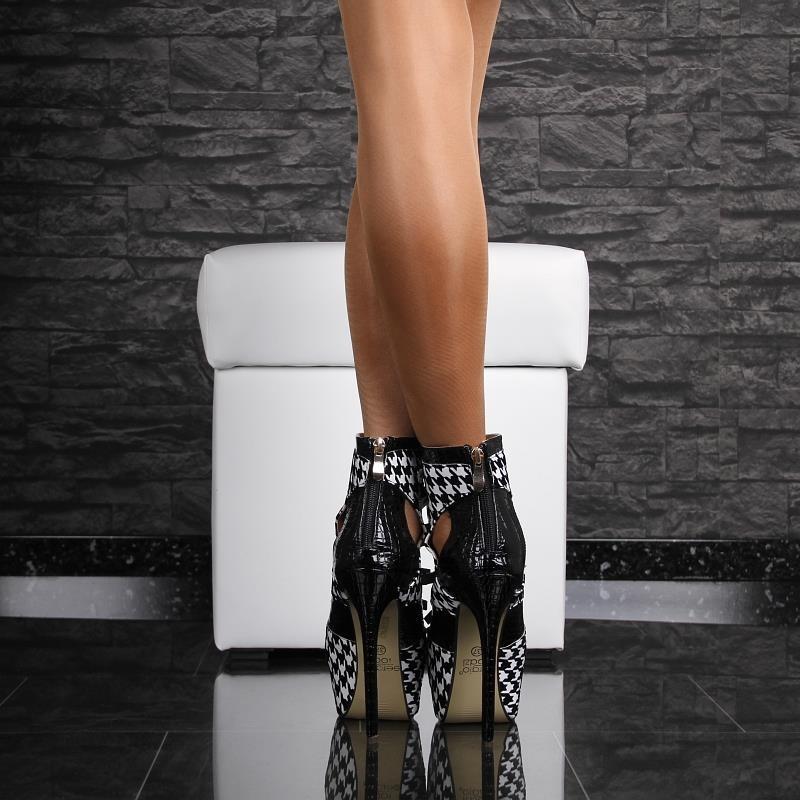 sexy high heel plateau stiefeletten 59 95. Black Bedroom Furniture Sets. Home Design Ideas
