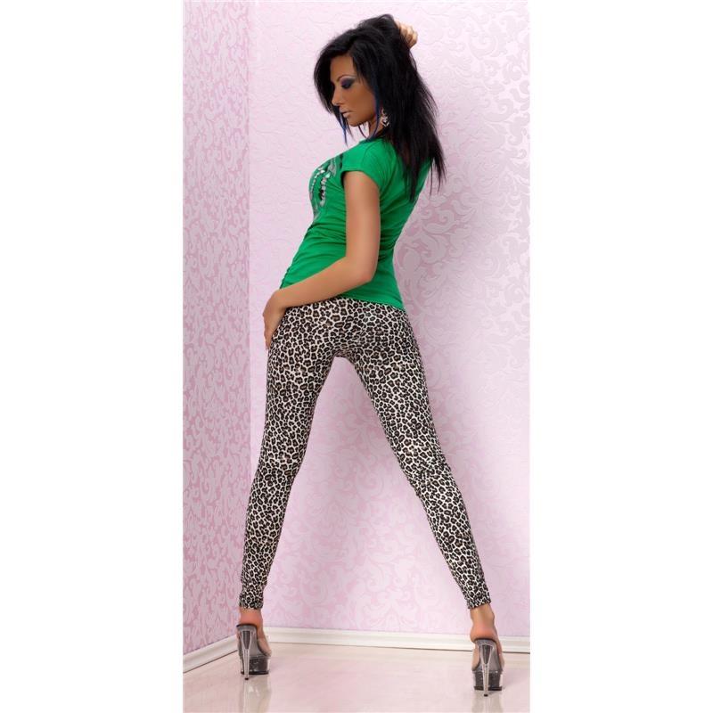 sexy leggings in leopard look 14 95. Black Bedroom Furniture Sets. Home Design Ideas