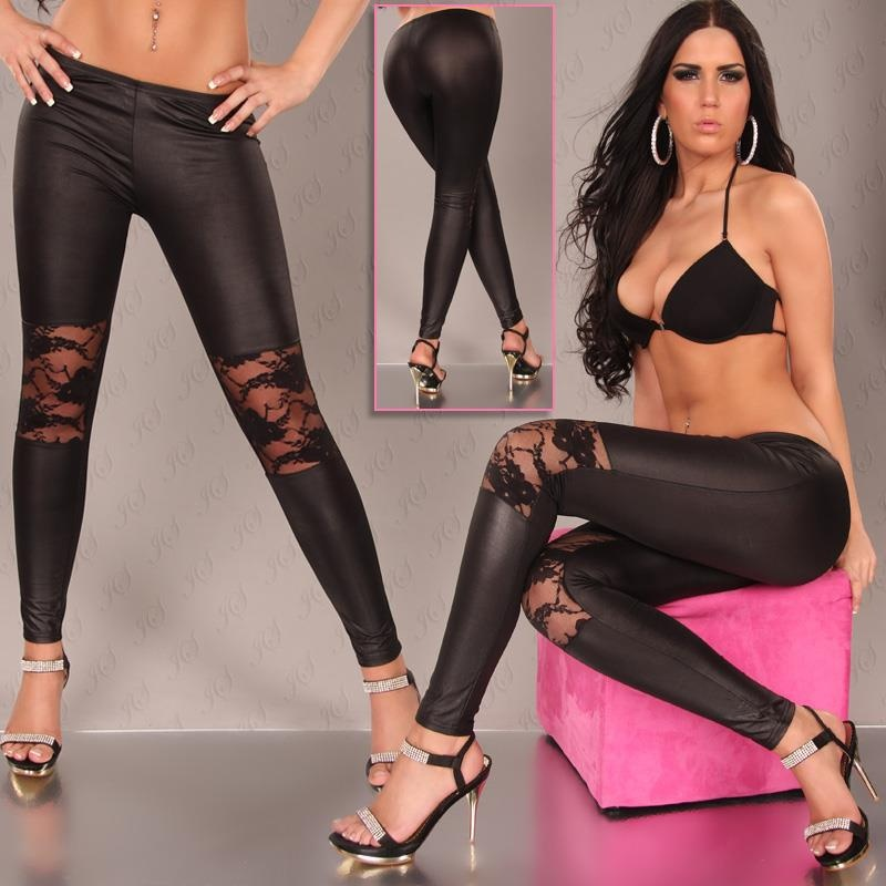 SEXY LEGGINGS WITH PRECIOUS LACE, 19,95