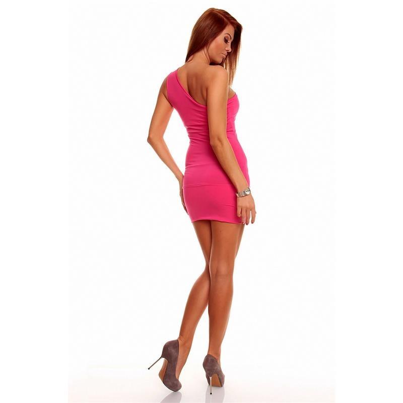 sexy one shoulder minidress 29 95. Black Bedroom Furniture Sets. Home Design Ideas