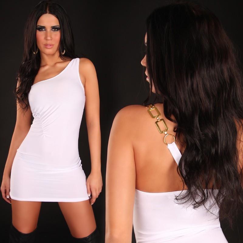 sexy one shoulder minidress 24 95. Black Bedroom Furniture Sets. Home Design Ideas