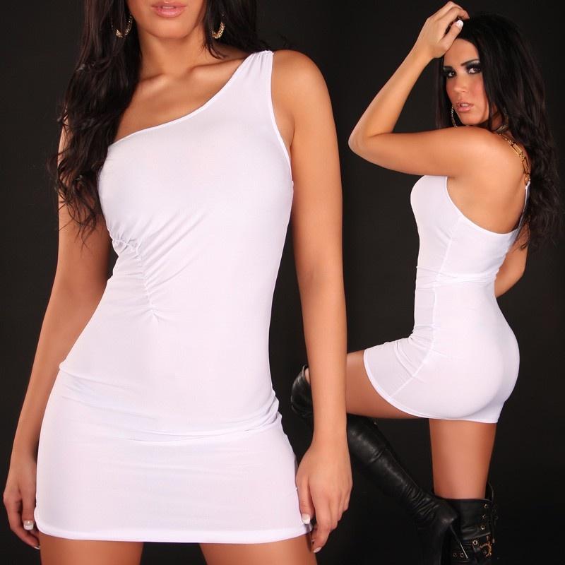 sexy one shoulder minikleid 24 95. Black Bedroom Furniture Sets. Home Design Ideas