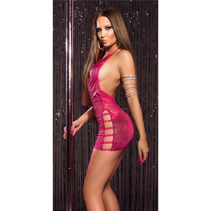 Sexy tube dress stripper