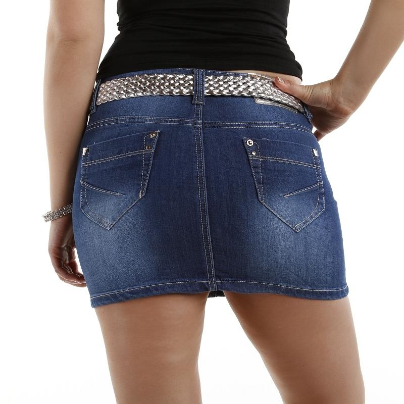 SEXY JEANS MINISKIRT IN USED-LOOK, 24,95 €