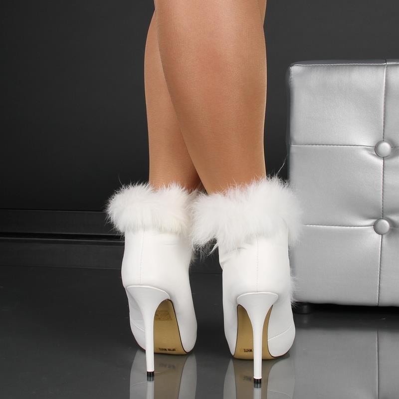 dreamlike ankle boots with fake fur 34 95. Black Bedroom Furniture Sets. Home Design Ideas