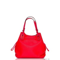 BIG SHOPPER HANDBAG SLING BAG MADE OF IMITATION LEATHER RED