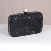 NOBLE LUXURY GLAMOUR RHINESTONE CLUTCH BAG WITH CHAIN...