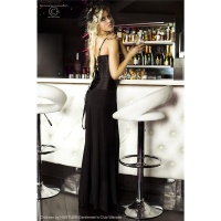 ELEGANT LONG FLOOR-LENGTH MAXI SKIRT BLACK UK 12/14 (L/XL)