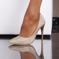 GLAMOURÖSE PUMPS HIGH HEELS STILETTOS MIT...