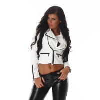 PREMIUM QUALITY BIKER JACKET IMITATION LEATHER...