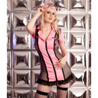 SEXY 5 PCS NAUGHTY STEWARDESS SUIT UNIFORM OUTFIT...