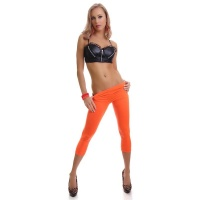 SEXY 7/8 LEGGINGS NEON ORANGE