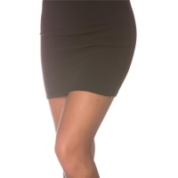 SEXY BASIC MINISKIRT MADE OF STRETCH-FABRIC BLACK