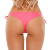 SEXY BRAZILIAN CUT BIKINI BOTTOM PANTY TO TIE BEACHWEAR...