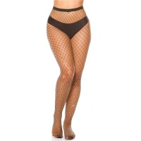 SEXY COARSE-MESHED FISHNET TIGHTS PANTYHOSE WITH...
