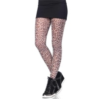 SEXY LEG AVENUE NYLON STRUMPFHOSE IN LEOPARD-OPTIK
