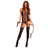 SEXY LEG AVENUE SUSPENDER BODYSTOCKING LINGERIE...