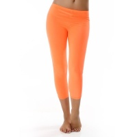 SEXY LEGGINGS CAPRI NEON ORANGE