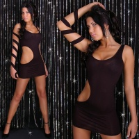 SEXY MINIDRESS GOGO CLUBWEAR BLACK