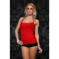 SEXY STRAPPY TOP RED Onesize (UK 8,10,12)