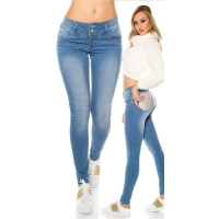 "SKINNY ""MAGIC BOOTY"" DRAINPIPE JEANS WITH..."