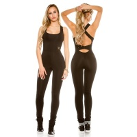 TRENDY FITNESS WORKOUT JUMPSUIT JOGGING SUIT SPORTSWEAR...