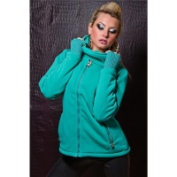 WARM AND BEAUTIFUL JACKET WITH LINING GREEN