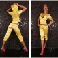 SEXY REDIAL SATIN JOGGING SUIT TRACKSUIT YELLOW