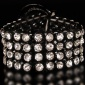 EDLES GLAMOUR STRASS PARTY-ARMBAND SCHMUCK
