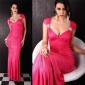 GLAMOROUS EVEVING DRESS FUCHSIA