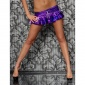 SEXY MINISKIRT WET LOOK GOGO PURPLE (22 CM)