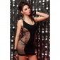 SEXY FISHNET MINIDRESS GOGO CLUBWEAR BLACK