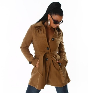 EXCLUSIVE JACKET SHORT-COAT BEIGE