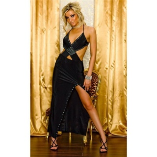 GLAMOUR EVENING DRESS SALSA BLACK