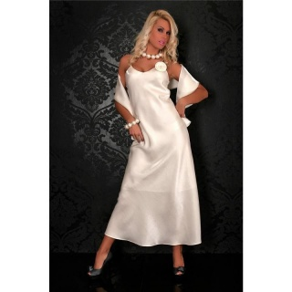 GLAMOUR GALA EVENING DRESS CREAM