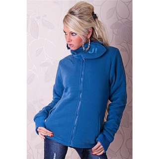 WARM AND BEAUTIFUL JACKET WITH LINING BLUE