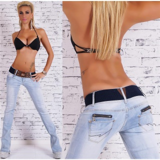Sexy boot cut jeans