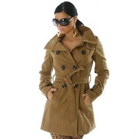EXCLUSIVE COAT TRENCHCOAT BEIGE