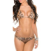 Sexy Push-Up Bikini mit Strass-Schnallen Beachwear...